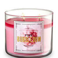 PINK BUBBLEGUM3-Wick Candle