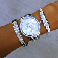 Boho Chrome Stack