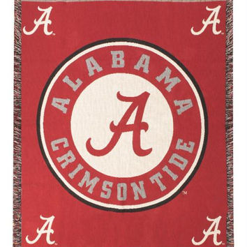 Throw Blanket - University Of Alabama