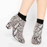 ASOS ROMANCE ME 60s Ankle Boots