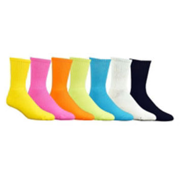 Red Lion Florescent Crew Socks