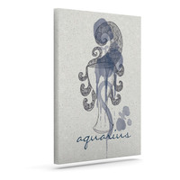 "Belinda Gillies ""Aquarius"" Outdoor Canvas Wall Art"