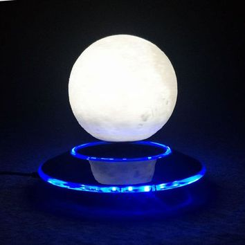 3D Levitation Moon Lamp Magnetic Color Changing Moon Light
