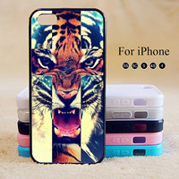 Tiger, iPhone 5 case,iPhone 5C Case,iPhone 5S Case, Phone case,iPhone 4 Case, iPhone 4S Case,Case-IP002Cal