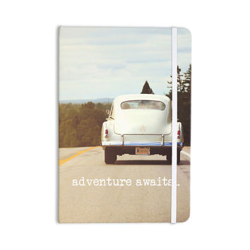 "Angie Turner ""Adventure Awaits"" Green Gray Everything Notebook"