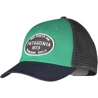 Patagonia Hog Tag Lopro Trucker Hat Emerald, One