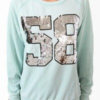 Sequined 58 Pullover