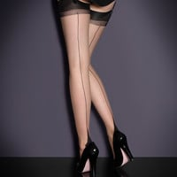 View All Hosiery by Agent Provocateur - Seam & Heel Stockings