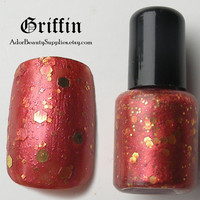 Griffin Nail Polish 8ml Vegan - Glitter Polish