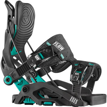 Flow Isis Fusion Snowboard Binding - Women's Black,