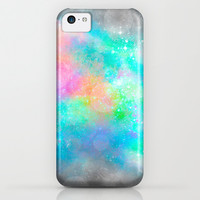 The Soul Becomes Dyed With the Colors of it's Thoughts (Galactic Watercolors) iPhone & iPod Case by Soaring Anchor Designs