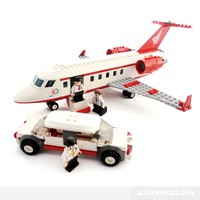 Private Charter Jet - Lego Compatible Toy