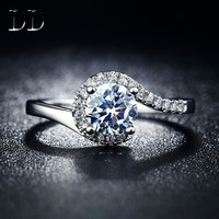 White Gold Engagement Wedding Ring