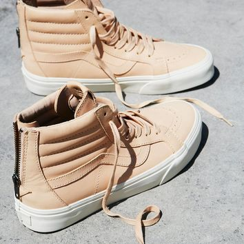 Free People Sk8-Hi Reissue Zip Leather Hi Top