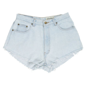 Rokit Recycled Blue Denim Shorts W28 | Rokit Recycled | Rokit Vintage Clothing