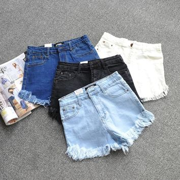 Casual Womens Denim Shorts