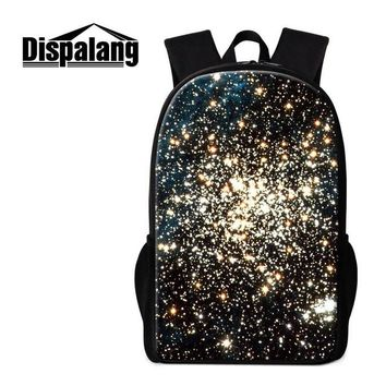 Cool Backpack school Dislapang Galaxy Backpack for Teen Boys Fashionable School bag Girly Cool Bookbag Colored Mochilas for Children Book Bag Kids AT_52_3