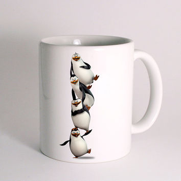Madagascar Penguin for Mug Design