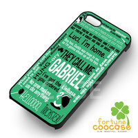 supernatural gabriel collage-yah for iPhone 6S case, iPhone 5s case, iPhone 6 case, iPhone 4S, Samsung S6 Edge