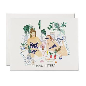 RED CAP CARDS SOUL SISTERS CARD