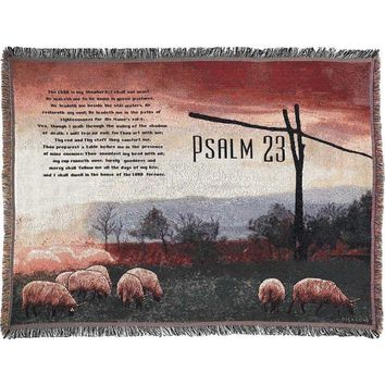 Throws - Psalms 23 (The Lord Is My Shepherd)