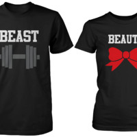 Beauty & Beast Matching Couple Shirts (Set)
