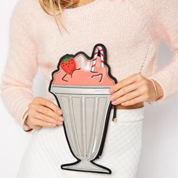 New Look Milkshake Clutch Bag