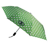Lime Rings Umbrella ~ Personalized