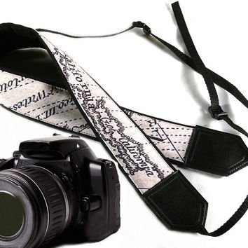 California Map Camera Strap. World Map Camera Strap. DSLR / SLR Camera Strap. For Sony, canon, nikon, panasonic, fuji and other cameras.