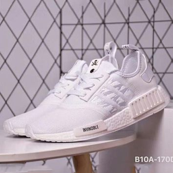 ADIDAS x NBHD x INVINCIBLE NMD Joint Style Tide Brand Fashion Sports Running Shoes F-CSXY white