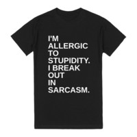 Break Out In Sarcasm.