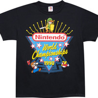 1990 World Champion Nintendo T-Shirt