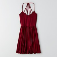 AEO STRAPPY FIT & FLARE DRESS