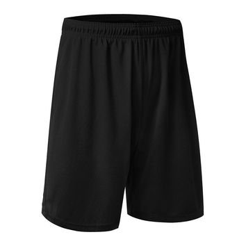 Athletic Gym Shorts Elastic Waist Breathable Running Pants with Pockets Soft Sports Fitness for Men by Fenta