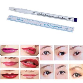LMFXT3 Susenstone Surgical Skin Marker Pen Scribe Tool for Tattoo Piercing Permanent Makeup