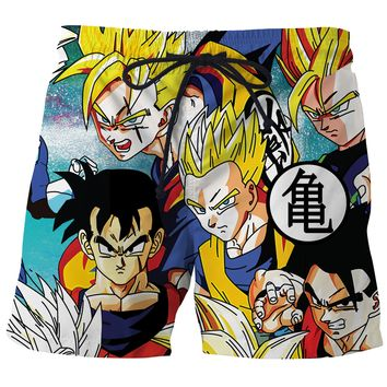 Dragon Ball Z Board Shorts