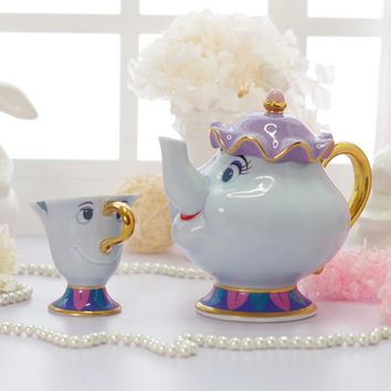 Beauty and the Beast Mrs Potts and Chip
