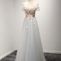 Fashion wedding dress dress new dinner evening dress long bridesmaid dress shoulder chair self-cultivation