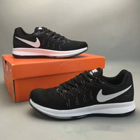 """Nike Air Zoom Pegasus 33"" Fashion Casual Breathable Unisex Sneakers Couple Running Shoes"