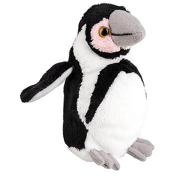 5 Inch Stuffed Penguin Chick Zoo Animal Plush Floppy Animal Kingdom Babies Collection