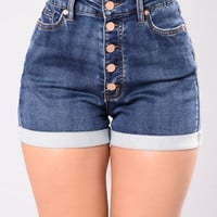 Americano Shorts - Dark Wash