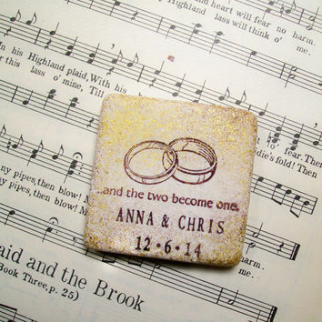 Wedding Favors 200 Favor Magnets Personalized Or Save The Date Scripture