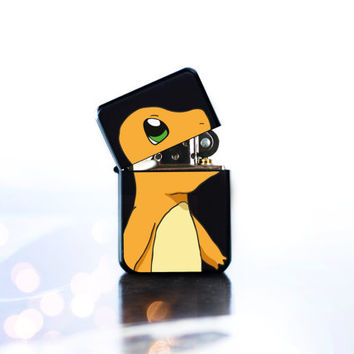 Charmander Pokemon BESTSELLING Lighter With Flame Bursting Out