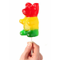 Astro Giant Gummy Bear On A Stick