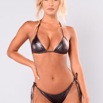 Althea Bikini Set - Wine