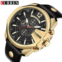 Luxury Designer Watch Man Quartz Gold