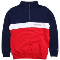 Wag Half Zip Fleece Jacket Navy