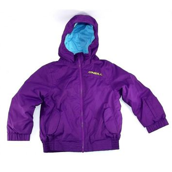New 2013 O'Neill Youth Kids Snowboarding Winter PK Purple Haze Ruby Jacket Sz 10
