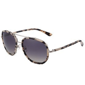 Tom Ford Cyrille Aviator Animal Print Frame Sunglasses 307898