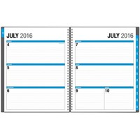 "The Big Picture by Blue Sky Academic Year 2016-2017 Weekly/Monthly 8.5"" x 11"" Planner - Walmart.com"